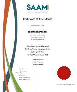SAAM CPD Certificate Just Mediate -_Pangas, Jonathan